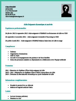 Modele Exemple Cv Aide Soignant Staffsocial